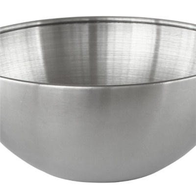 MB019 Stainless Steel Barware Single-walled Salad Bowl/Mixing Bowl/Fruit Bowl