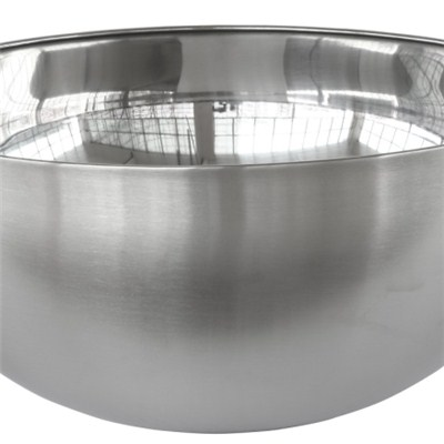 MB021 Stainless Steel Barware Single-walled Salad Bowl/Mixing Bowl/Fruit Bowl