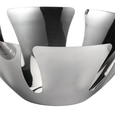 FH003 Stainless Steel Barware Fruit Holder Fruit Plate Fruit Bowl