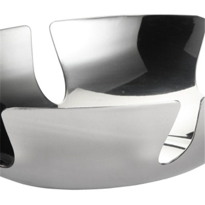 FH004 Stainless Steel Barware Fruit Holder Fruit Plate Fruit Bowl