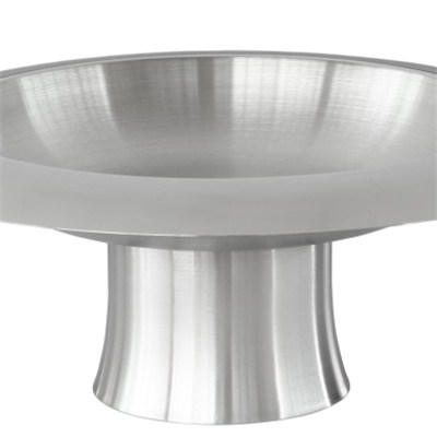 FH007 Stainless Steel Barware Square Fruit Holder Fruit Plate Fruit Bowl