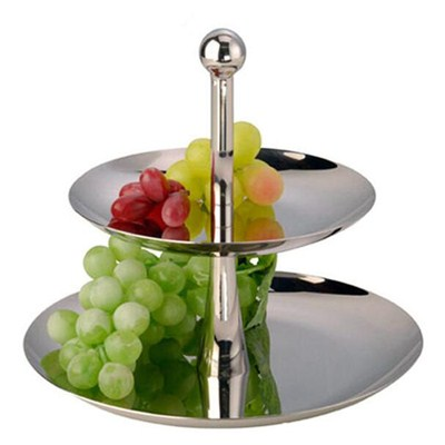 FH013 Stainless Steel Barware Fruit Holder Fruit Plate Fruit Bowl