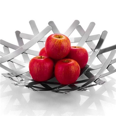 FH015 Stainless Steel Barware Fruit Holder Fruit Plate Fruit Bowl Serving Tray