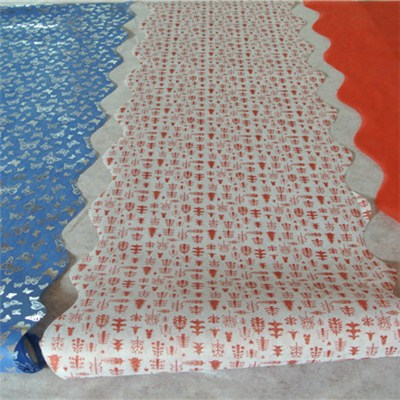 PET Nonwoven Rolls With Waved Edge