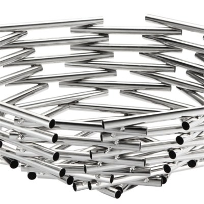 FH022 Stainless Steel Barware Fruit Holder Fruit Plate Fruit Bowl Serving Tray