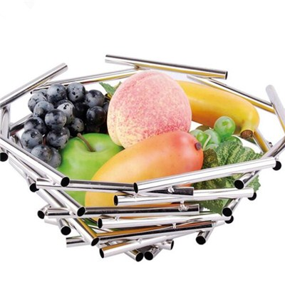 FH023 Stainless Steel Barware Fruit Holder Fruit Plate Fruit Bowl