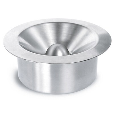 AS001 Stainless Steel Barware Round Shape Windproof Metal Cigar Ashtrays
