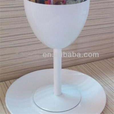 MM033 6oz Top Quality Stainless Steel Barware Mug Wine Goblet Beer Mug