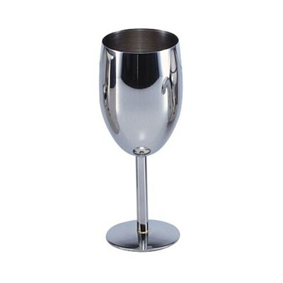 MM034 8oz Stainless Steel Barware Mug Wine Goblet Beer Cup Good Quality