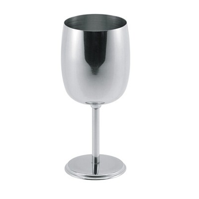 MM039 8oz Stainless Steel Barware Mug Wine Goblet Beer Cup Champagne Cup Factory Price