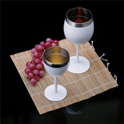MM041 12oz Stainless Steel Barware Mug Wine Goblet Beer Cup Wine Cup Manufacturer