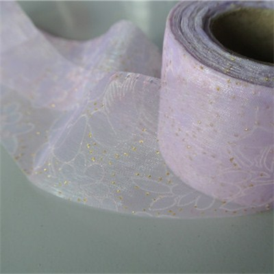 Printed Organza Ribbon