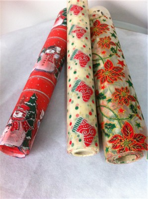 Decorative Christmas Rolls