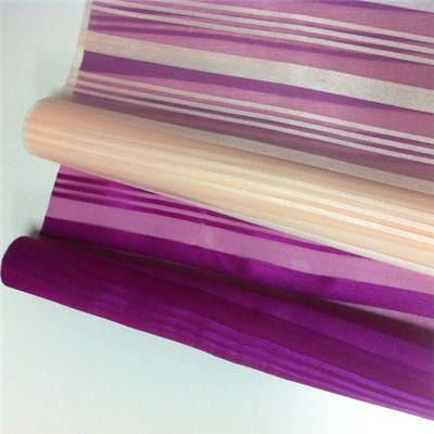 Big Stripes Organza