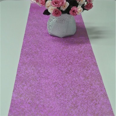 Glittered Nonwoven Table Runner