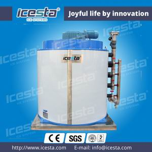 Fresh Water Flake Ice Evaporator 40t/24hrs