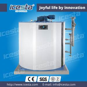 Fresh Water Flake Ice Evaporator 25t/24hrs