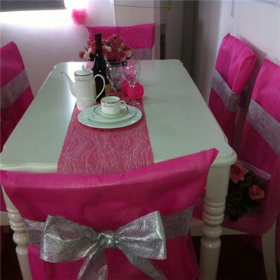 PET Nonwoven Chair Covers And Table Decorations