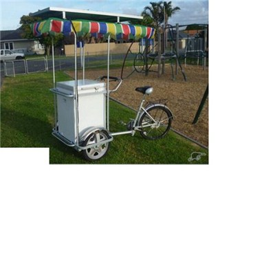 Ice Cream Tricycle With Solar Freezer SBF-155L