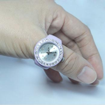Men Finger Ring Watch