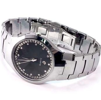 Quartz Stainless Steel Back Watch