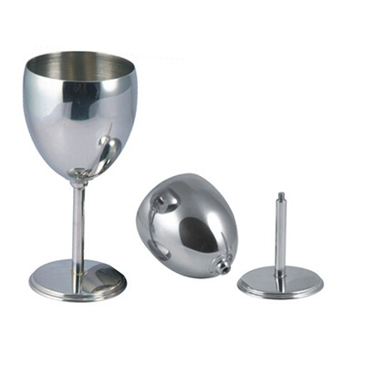 MM045 6oz Stainless Steel Barware Mug Wine Goblet Martini Cup Wine Cup For Sale