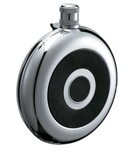 HF005 8oz Stainless Steel Barware Round Shape Hip Flask Top Quality