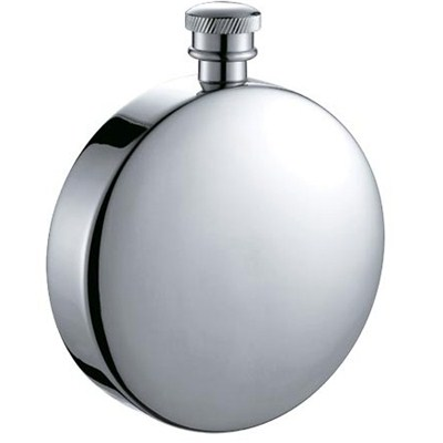 HF007 5oz Stainless Steel Barware Round Shape Hip Flask Whisky Flask