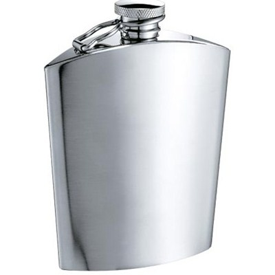 HF0023 5oz Stainless Steel Barware Square Shape Hip Flask For Gift