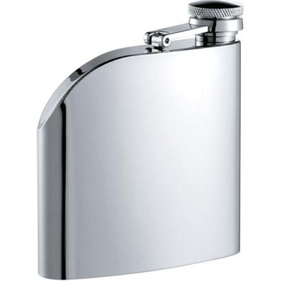 HF0026 6oz Stainless Steel Barware Square Shape Hip Flask with Different Size