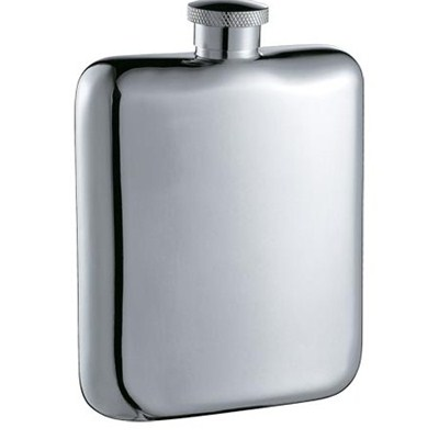 HF0028 6oz Stainless Steel Barware Square Shape Hip Flask Wine Flask Top Quality