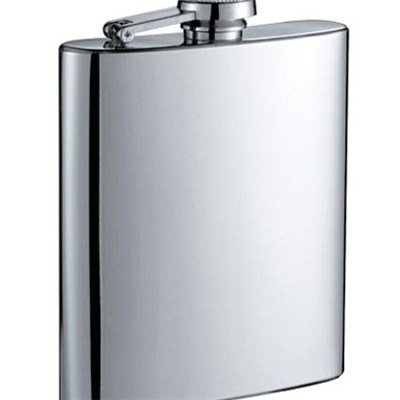 HF035 8oz Stainless Steel Barware Square Shape Hip Flask Wine Flask