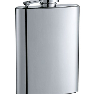 HF036 9oz Stainless Steel Barware Square Shape Hip Flask Wine Flask Top Quality