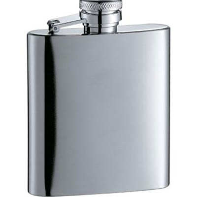 HF037 2oz Stainless Steel Barware Square Shape Hip Flask Wine Flask Wine Bottle