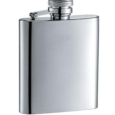 HF038 2.5oz Stainless Steel Barware Square Shape Hip Flask Wine Flask with Different Size