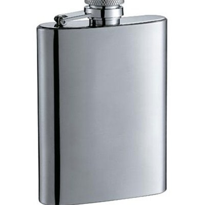 HF039 3oz Stainless Steel Barware Square Shape Hip Flask Wine Flask Wine Bottle