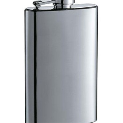 HF040 3.5oz Stainless Steel Barware Square Shape Hip Flask Wine Flask