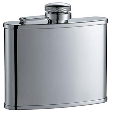 HF043 4oz Stainless Steel Barware Square Shape Hip Flask Wine Flask Top Quality