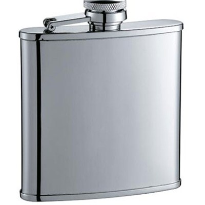 HF044 5oz Stainless Steel Barware Square Shape Hip Flask Wine Flask For Whisky