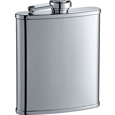 HF045 6oz Stainless Steel Barware Square Shape Hip Flask Wine Flask