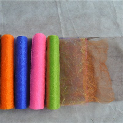 Crepe Organza Rolls For Table Decoration