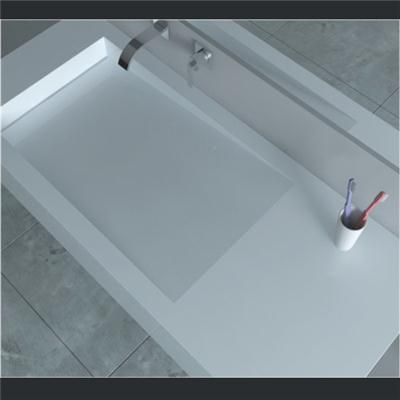 Wall mount solid surface basin BAV-011