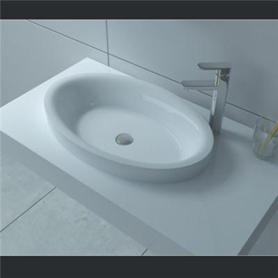 Wall mount solid surface basin BAV-015