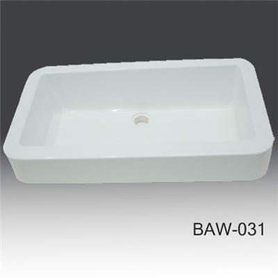 Bathroom countertop solid surface basin BAW-031