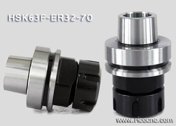 HSK 63F ER32 HSK Tool Holders for Auto Tool Changer CNC Routers