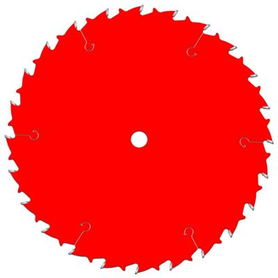 254mm 24 Tooth Tct Saw Blade