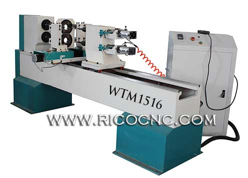 Woodturning MachineCNC Wood Lathe Machine for Wood Stairs Funiture Legs Carving WTM1516