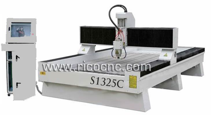 Stone Cutting Machine Marble Carving CNC Router Granite Engraving Machine S1325C