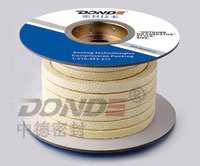 Nomex Fiber Fibre Braided Packing (ZD-P1402)