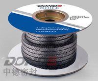 Synopsis:Reinforced flexible graphite braided packing is the most effective composite parts for solving problems.It is reinforced with five stainless steel wire or innconel wire. This kind of graphite